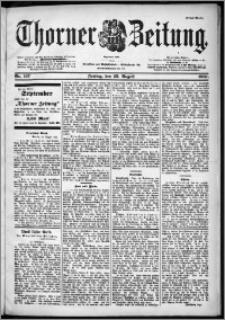 Thorner Zeitung 1901, Nr. 197 Erstes Blatt