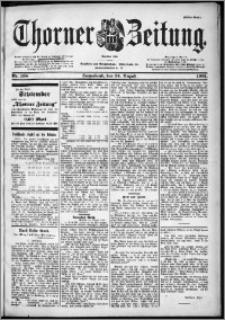 Thorner Zeitung 1901, Nr. 198 Erstes Blatt
