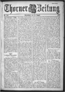 Thorner Zeitung 1901, Nr. 198 Zweites Blatt