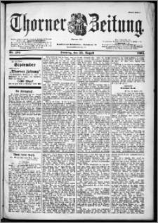 Thorner Zeitung 1901, Nr. 199 Erstes Blatt