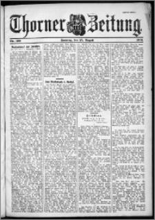 Thorner Zeitung 1901, Nr. 199 Zweites Blatt