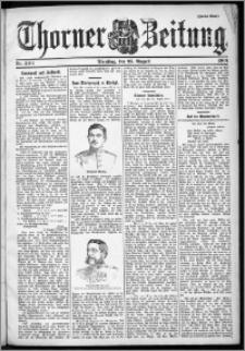 Thorner Zeitung 1901, Nr. 200 Zweites Blatt