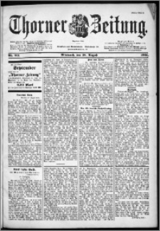 Thorner Zeitung 1901, Nr. 201 Erstes Blatt