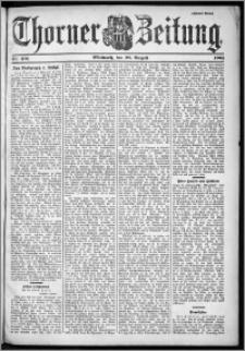Thorner Zeitung 1901, Nr. 201 Zweites Blatt