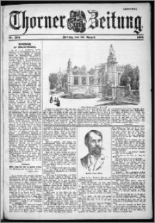 Thorner Zeitung 1901, Nr. 203 Zweites Blatt