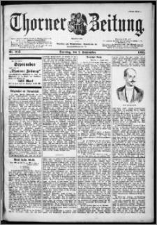 Thorner Zeitung 1901, Nr. 205 Erstes Blatt