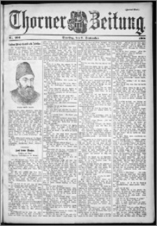 Thorner Zeitung 1901, Nr. 206 Zweites Blatt