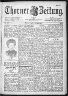 Thorner Zeitung 1901, Nr. 208 Erstes Blatt