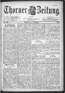 Thorner Zeitung 1901, Nr. 209 Erstes Blatt