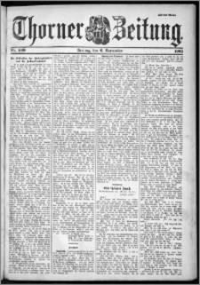 Thorner Zeitung 1901, Nr. 209 Zweites Blatt