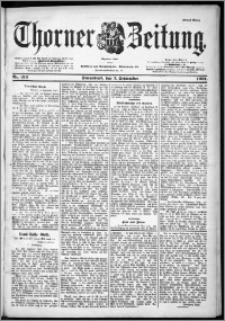 Thorner Zeitung 1901, Nr. 210 Erstes Blatt