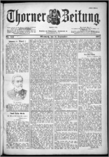 Thorner Zeitung 1901, Nr. 213 Erstes Blatt