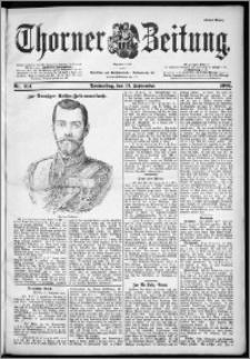 Thorner Zeitung 1901, Nr. 214 Erstes Blatt