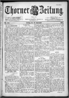 Thorner Zeitung 1901, Nr. 215 Erstes Blatt