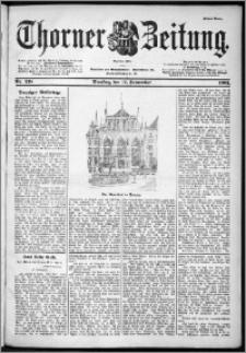 Thorner Zeitung 1901, Nr. 218 Erstes Blatt