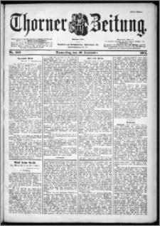 Thorner Zeitung 1901, Nr. 220 Erstes Blatt