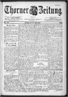 Thorner Zeitung 1901, Nr. 221 Erstes Blatt
