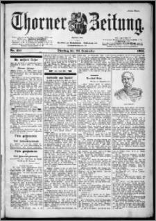 Thorner Zeitung 1901, Nr. 224 Erstes Blatt