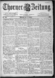Thorner Zeitung 1901, Nr. 231 Erstes Blatt