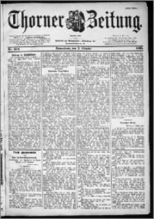 Thorner Zeitung 1901, Nr. 234 Erstes Blatt
