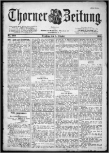 Thorner Zeitung 1901, Nr. 236 Erstes Blatt