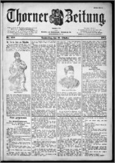 Thorner Zeitung 1901, Nr. 238 Erstes Blatt