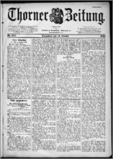 Thorner Zeitung 1901, Nr. 240 Erstes Blatt
