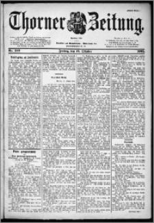 Thorner Zeitung 1901, Nr. 245 Erstes Blatt