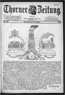 Thorner Zeitung 1901, Nr. 246 Erstes Blatt