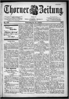 Thorner Zeitung 1901, Nr. 256 Erstes Blatt