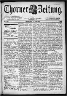 Thorner Zeitung 1901, Nr. 257 Erstes Blatt
