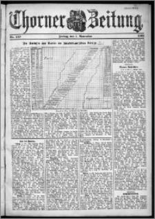 Thorner Zeitung 1901, Nr. 257 Zweites Blatt