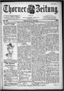 Thorner Zeitung 1901, Nr. 259 Erstes Blatt