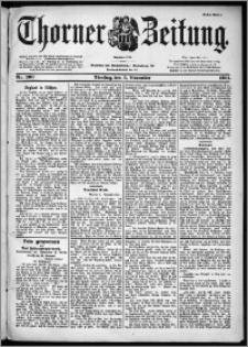 Thorner Zeitung 1901, Nr. 260 Erstes Blatt