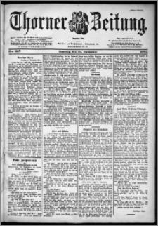 Thorner Zeitung 1901, Nr. 265 Erstes Blatt