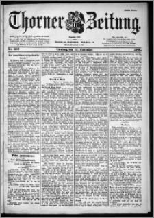 Thorner Zeitung 1901, Nr. 266 Erstes Blatt