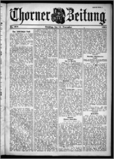 Thorner Zeitung 1901, Nr. 266 Zweites Blatt