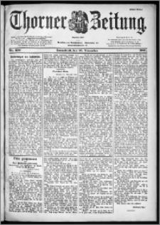 Thorner Zeitung 1901, Nr. 270 Erstes Blatt