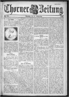 Thorner Zeitung 1901, Nr. 271 Zweites Blatt