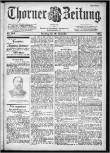 Thorner Zeitung 1901, Nr. 272 Erstes Blatt