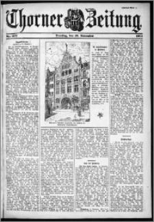 Thorner Zeitung 1901, Nr. 272 Zweites Blatt