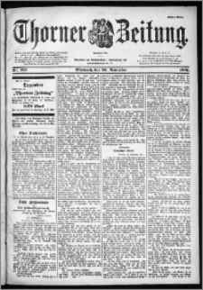 Thorner Zeitung 1901, Nr. 273 Erstes Blatt