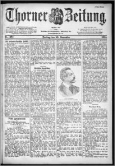 Thorner Zeitung 1901, Nr. 274 Erstes Blatt
