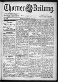 Thorner Zeitung 1901, Nr. 279 Erstes Blatt