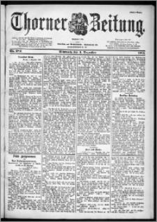 Thorner Zeitung 1901, Nr. 284 Erstes Blatt