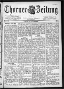 Thorner Zeitung 1901, Nr. 289 Erstes Blatt