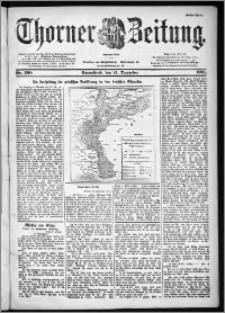 Thorner Zeitung 1901, Nr. 299 Erstes Blatt
