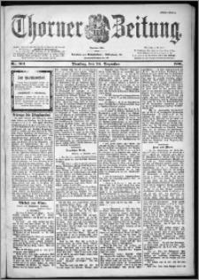 Thorner Zeitung 1901, Nr. 301 Erstes Blatt