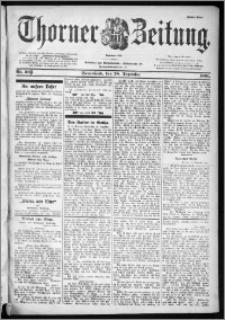 Thorner Zeitung 1901, Nr. 303 Erstes Blatt