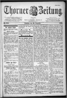 Thorner Zeitung 1901, Nr. 304 Erstes Blatt